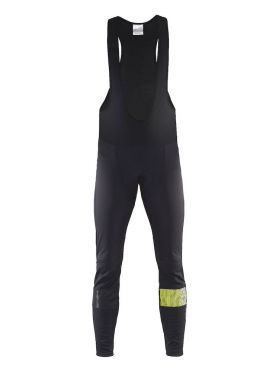 Craft Verve glow bib tights fietsbroek zwart/flumino heren