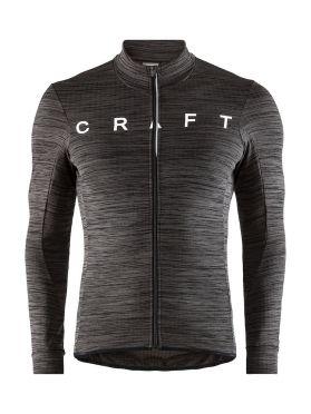 Craft Reel thermal lange mouw fietsshirt zwart heren