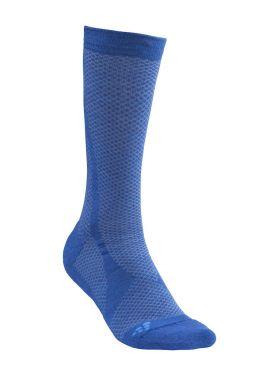 Craft warm mid sokken blauw