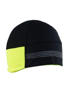 Craft Shelter 2.0 helmmuts zwart/geel unisex