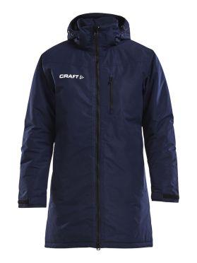 Craft Parkas trainings jas blauw heren