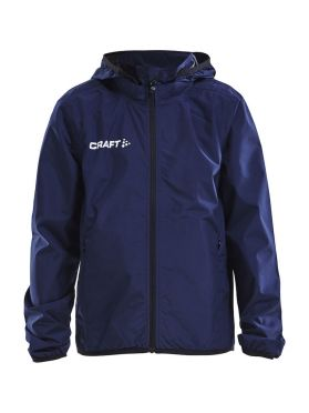 Craft Rain trainings jas blauw/navy junior