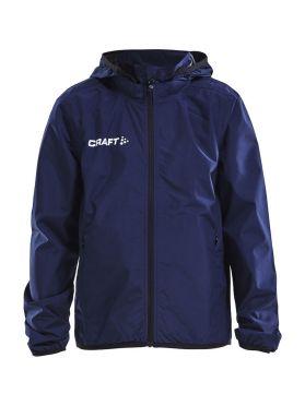 Craft Rain trainings jas blauw/navy junior