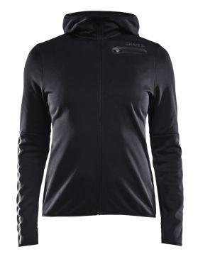 Craft Eaze jersey hardloopjack zwart dames