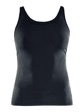 Craft Essential Singlet mouwloos ondershirt zwart dames