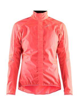 Craft Mist regen fietsjacket roze dames