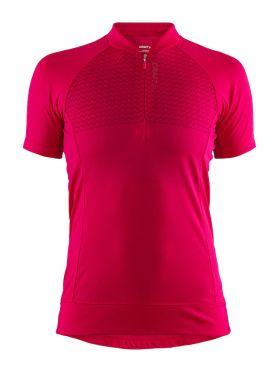 Craft Rise fietsshirt rood dames