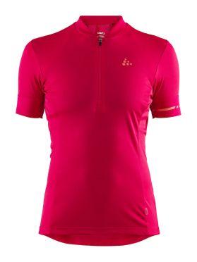 Craft Point fietsshirt rood/jam dames