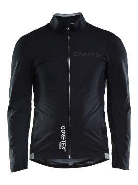 Craft Aerotec GTX regen fietsjacket zwart heren