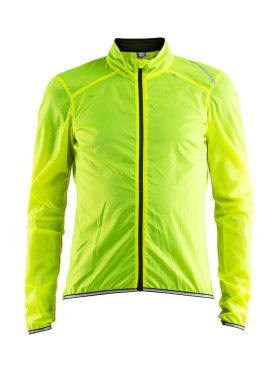 Craft Lithe fietsjacket geel heren