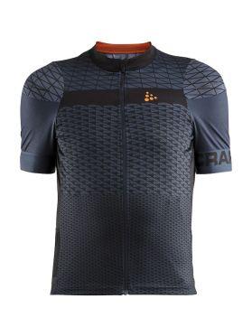 Craft Route fietsshirt korte mouw donkerblauw heren