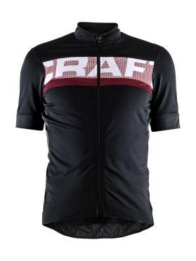 Craft Reel fietsshirt zwart/rood heren
