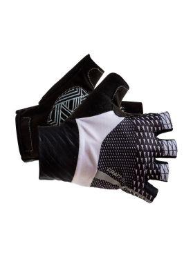 Craft Roleur fietshandschoenen wit/zwart unisex