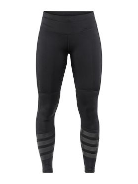 Craft Urban run tight hardloopbroek zwart dames