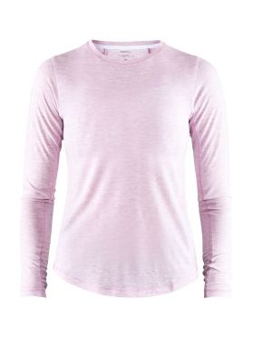 Craft Urban run lange mouw ondershirt roze dames