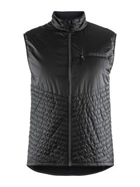 Craft Urban run body warmer hardloopjack zwart heren