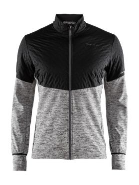 Craft Urban run thermal wind hardloopjack zwart/grijs heren