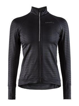 Craft Velo thermal 2.0 fietsshirt lange mouw zwart dames