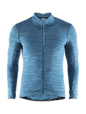 Craft Velo thermal 2.0 lange mouw fietsshirt blauw heren