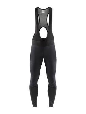 Craft Ideal Pro wind bibtight fietsbroek zonder zeem zwart heren