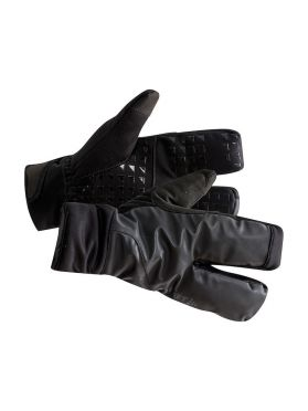 Craft Siberian 2.0 Split finger fietshandschoenen zwart unisex