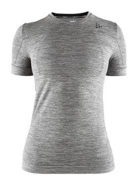 Craft Fuseknit comfort korte mouw ondershirt grijs dames