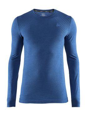 Craft Fuseknit comfort lange mouw ondershirt blauw heren
