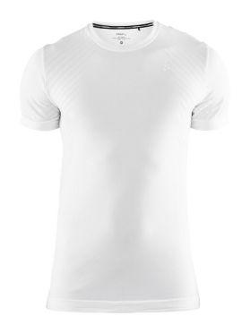 Craft Fuseknit comfort korte mouw ondershirt wit heren