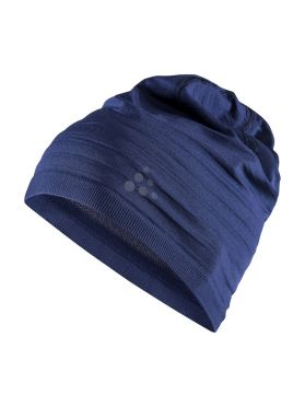 Craft Warm comfort muts blauw