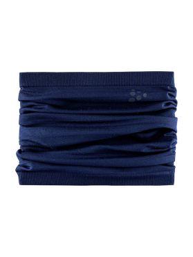 Craft Warm comfort nek warmer blauw