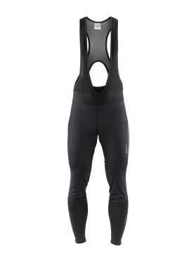 Craft Ideal Pro wind bibtight fietsbroek zwart heren