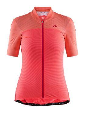 Craft Hale Glow fietsshirt roze dames