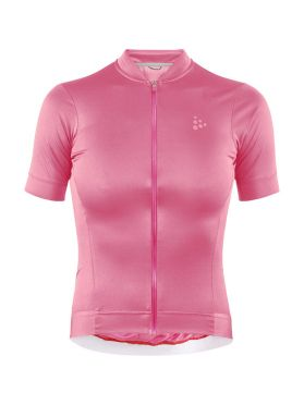 Craft Essence fietsshirt roze dames