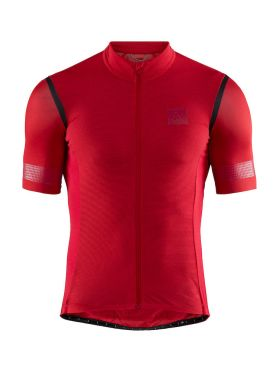 Craft Hale Glow fietsshirt rood heren