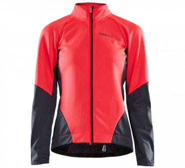 Craft Ideal fietsjacket roze/grijs dames