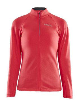 Craft Ideal Thermal fietsshirt lange mouw roze dames
