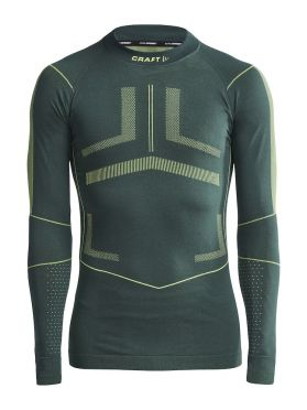 Craft Active Intensity CN lange mouw ondershirt groen heren