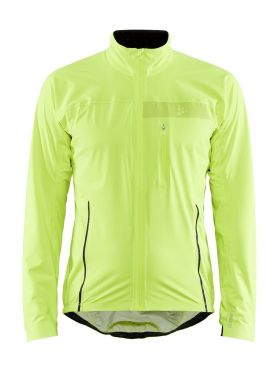 Craft Surge rain fietsjacket geel heren
