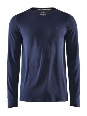 Craft Fuseknit Light lange mouw ondershirt donkerblauw heren