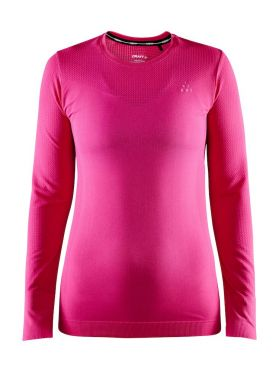 Craft Fuseknit Light lange mouw ondershirt roze dames