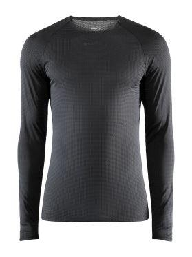 Craft Pro Dry Nanoweight lange mouw ondershirt zwart heren