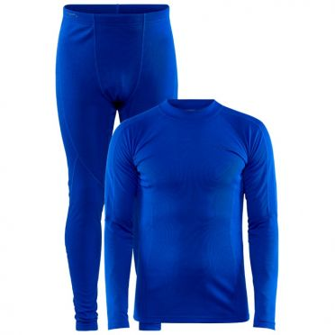 Craft Core Warm thermo onderkleding set blauw heren