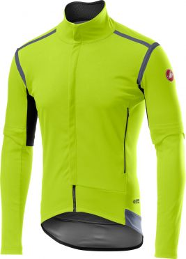 Castelli Perfetto RoS Convertible jacket fluo geel heren