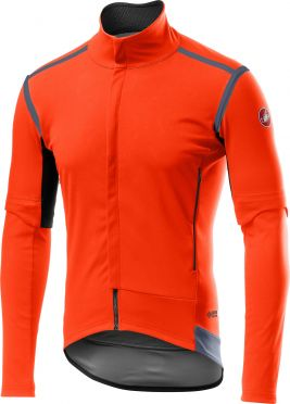 Castelli Perfetto RoS Convertible jacket oranje heren
