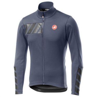 Castelli Raddoppia 2 jacket dark steel blauw heren