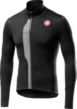 Castelli Trasparente lange mouw fietsshirt zwart/grijs heren