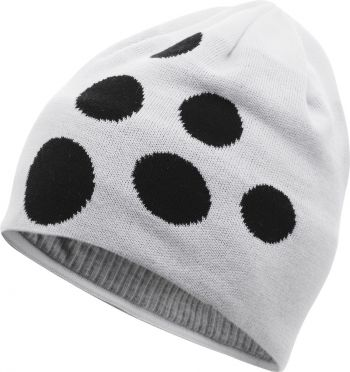 Craft Big logo hardloopmuts wit/zwart