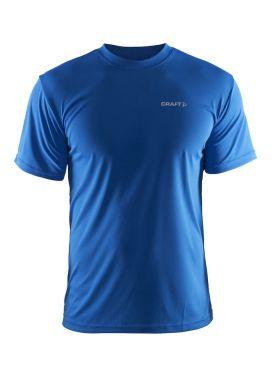 Craft Prime korte mouw hardloopshirt blauw heren
