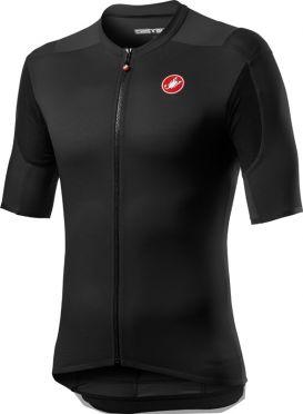 Castelli Superleggera 2 korte mouw fietsshirt zwart heren