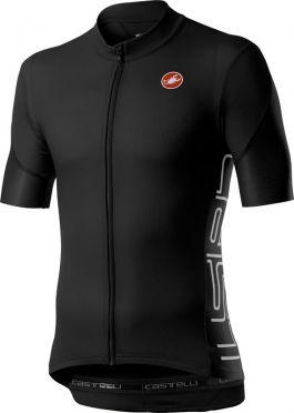 Castelli Entrata V korte mouw fietsshirt zwart heren